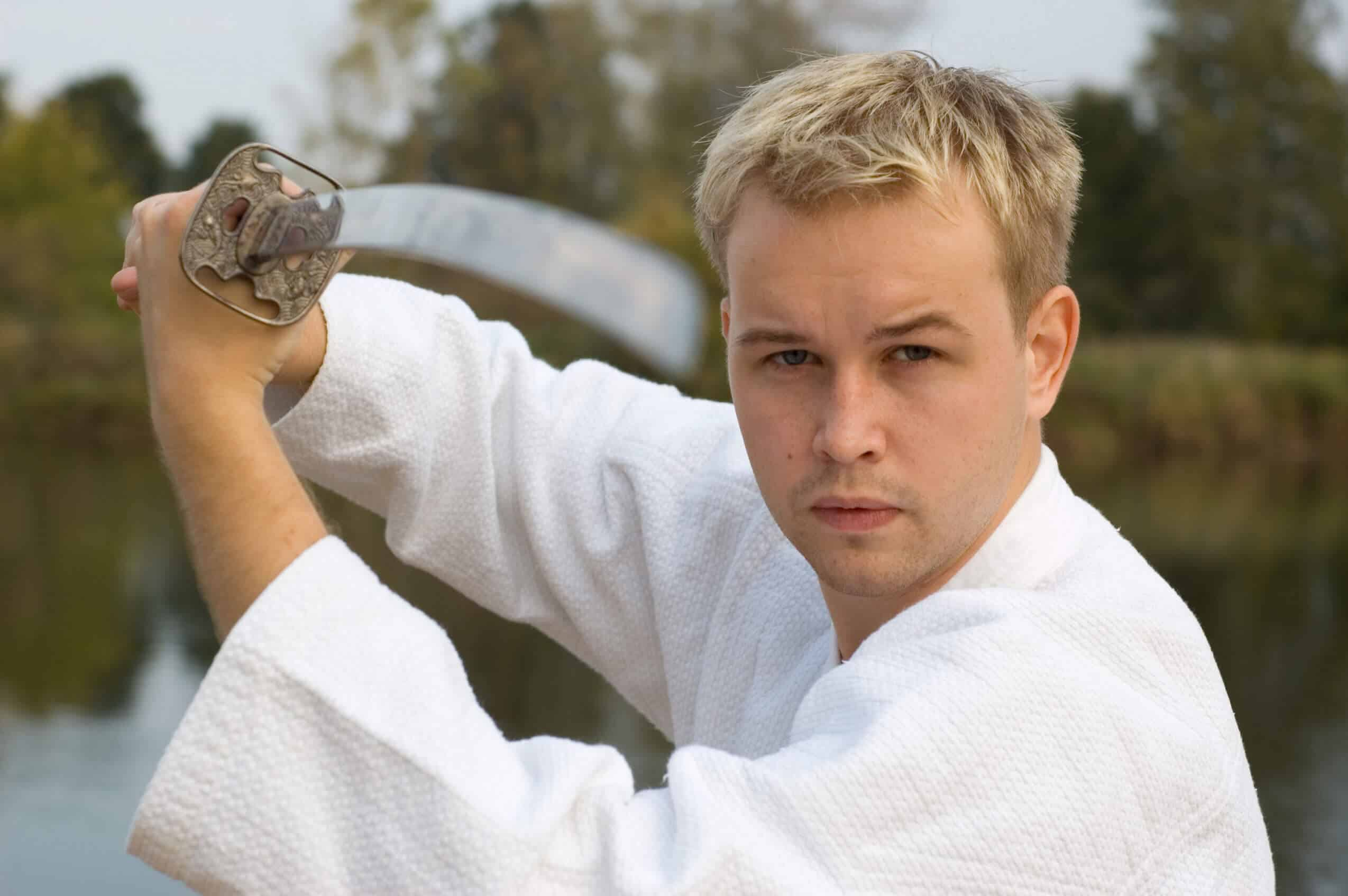 Martial Arts Lessons for Adults in Carrollton TX - Samurai Sword Posing Blog
