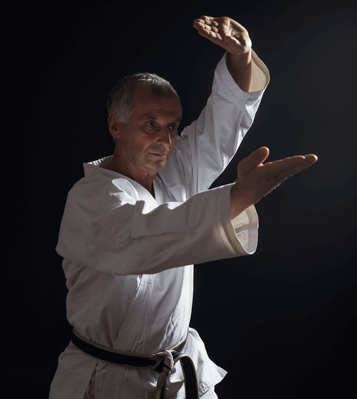 Martial Arts Lessons for Adults in Carrollton TX - Older Man