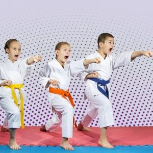 Martial Arts Lessons for Kids in Carrollton TX - Punching Focus Kids Sync