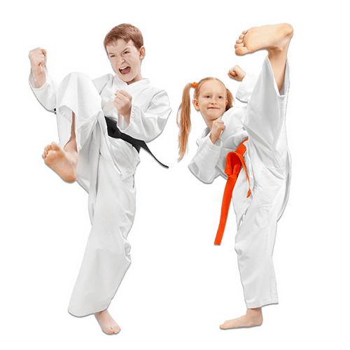 Martial Arts Lessons for Kids in Carrollton TX - Kicks High Kicking Together