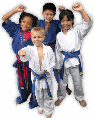 Martial Arts Summer Camp for Kids in Carrollton TX - Happy Group of Kids Banner Summer Camp Page